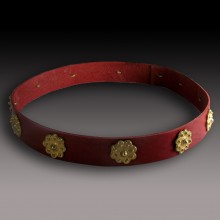 Leather Circlet,  007 - XIII  Century