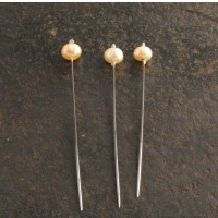 Pins with pearl head